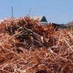 Copper Scrap Mill burry wire