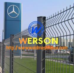 Welded Mesh Fencing-Werson Fencing