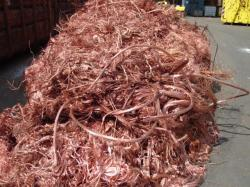 Copper scrap from 10 mt upto 5.000 mt per month