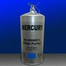 Ukraine Silver liquid mercury purity 99.999%