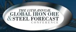 The 13th Annual Global Iron Ore & Steel Conference