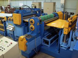 Automatic lines of transverse cutting of rolled metal