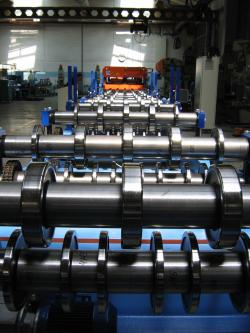Automatic lines of cold roll forming