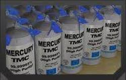 Prime Virgin Silver liquid Mercury = 99.9999%