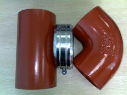 EN 877 cast iron pipe and fittings