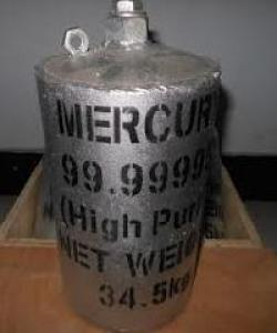 Pure Silver Liquid Metallic Mercury 99.999% For Gold Mining