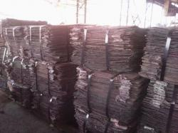 Copper cathode for sale 1500 metric tons
