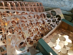 Copper scrap delivered to UK
