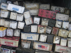 Drained Lead Acid Battery Scrap