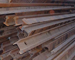 Premium Grade Used Rail Scrap R50 - R65 For Sale