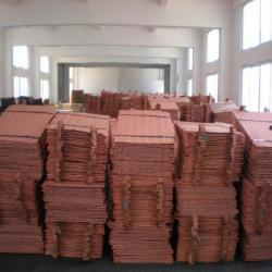 Offer copper cathodes