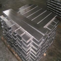 Producers of high purity aluminum A5N crysralized in ingots