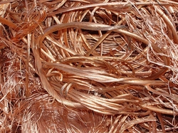 3000 MT of Copper Millberry Scrap