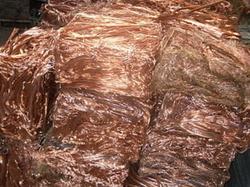 Wire Cooper Scrap, Grade A Copper BS EN 1978.1998, 500 MT monthly