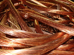 Copper wire scraps milberry supplies - 25-200 mt