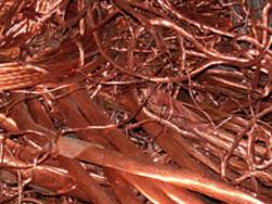 Scrap copper needed, 95% - 96% LME 15%, CIF