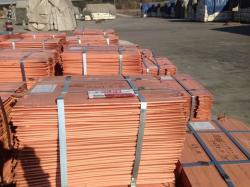 Copper Cathodes 99% from Congo