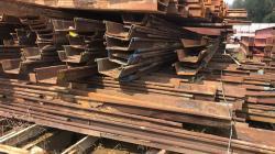 I-Beam, Sheet Piles 9-13M+/- various sizes