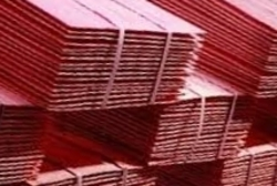 Electrolytic copper cathodes supplies 99,99%, grade A