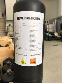 Silver Liquid Mercury 99.99% Purity