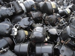 Interested in AC Fridge Compressor Scrap, 25mt trial order, 100mt a month