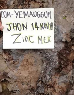 zinc ore 47% CIF