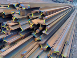 Used Rails, cut to 1.5 m at $320 TN price CIF ASWP
