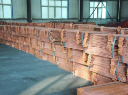 Copper cathodes supplies, purity is 99,7% 1000MT, from Congo
