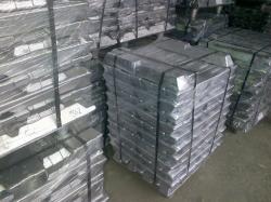 Aluminium ingot supplies, purity - 99,7% with maximum permissible iron content of 0.2%
