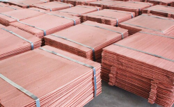 Copper Cathodes supplies, up to 5,000 MT monthly. CIF to your port of choice