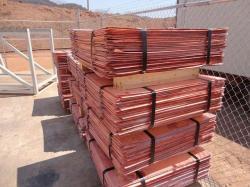 Copper cathodes supplies, 3000 mt, purity - 99,99%, grade A