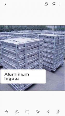 We Can supply Al ingots 99.97% CIF