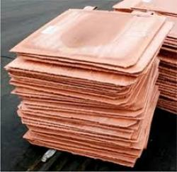 Copper cathodes Cu 99,9%, 1000MTa month CIF