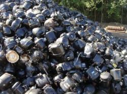 Refrigerator Compressor Scrap supplies, 1500-3600 MT per month