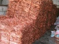 Supply of Copper Wire Scrap Millberry 5,000MT per month, 1000MT trial
