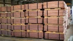 We sell copper cathode CIF