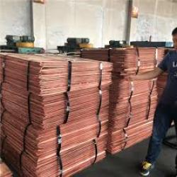 Copper Cathode  Grade A 99,9% 500MT first order, 2000MT a month