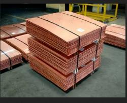 Copper Cathode Grade A 99.99%