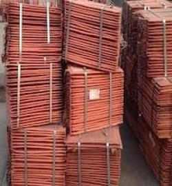 Looking for 1,000MT of Copper cathodes Grade A 99,8% CIF