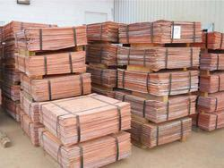 Copper Cathodes -18%LME, CIF