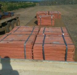 Copper Cathode 100mt trial on CIF