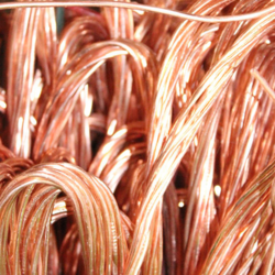 Copper scrap wire millberry 99,99% 100 mt CIF required