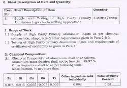 Interested in Aluminum Ingots 5 MT