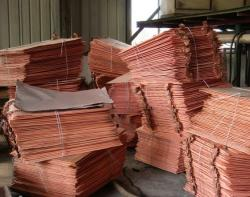Copper cathodes 99.9% 5,000 MT per m FOB or CIF