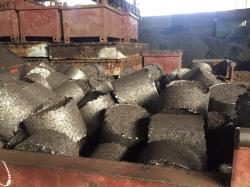 Steel briquettes supply