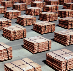 Copper cathode 99,99% up to 5,000 mt a m C&F