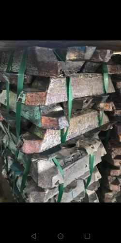 Lead ingots 9,96% from Argentina
