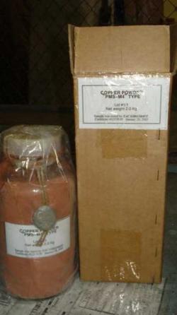 272 Kg Monoatomic Ultra-pure Electrolytic Copper Powder 99.993%