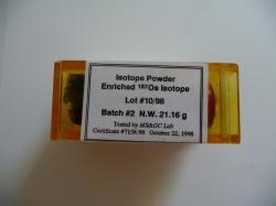 Osmium Isotope 187 for sale
