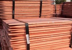 Copper cathodes on CIF for sale